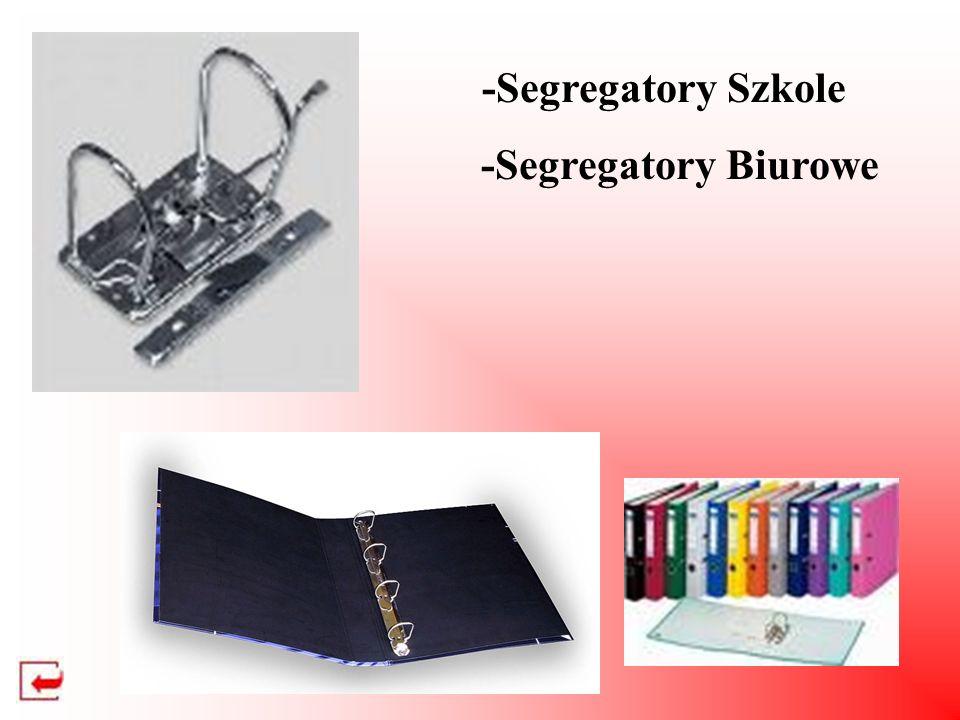-Segregatory Szkole -Segregatory Biurowe