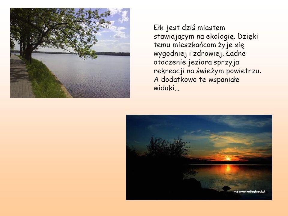 Ełk jest dziś miastem stawiającym na ekologię