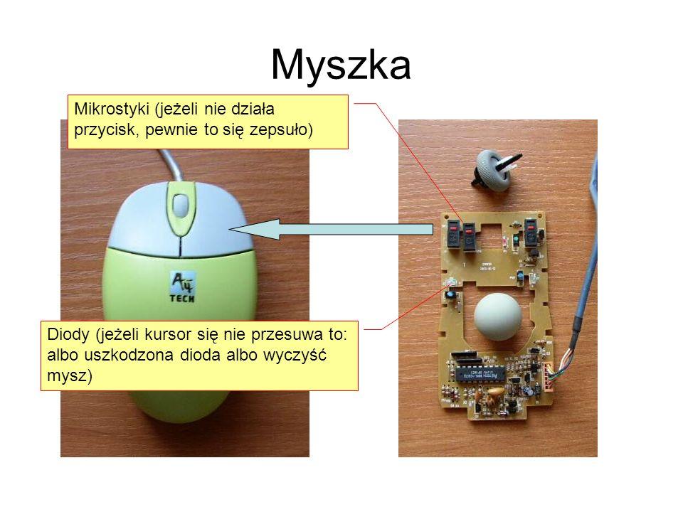 Myszka Mikrostyki (jeżeli nie działa przycisk, pewnie to się zepsuło)