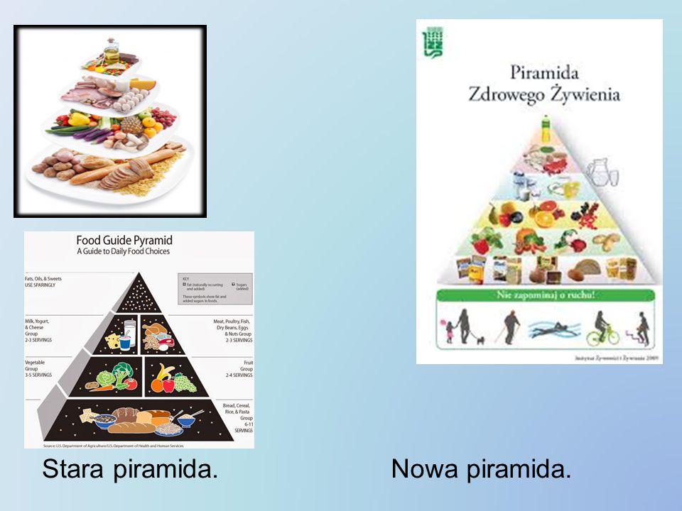 Stara piramida. Nowa piramida.