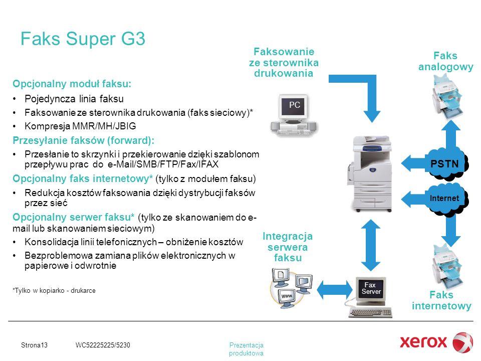 Faksowanie ze sterownika drukowania Integracja serwera faksu