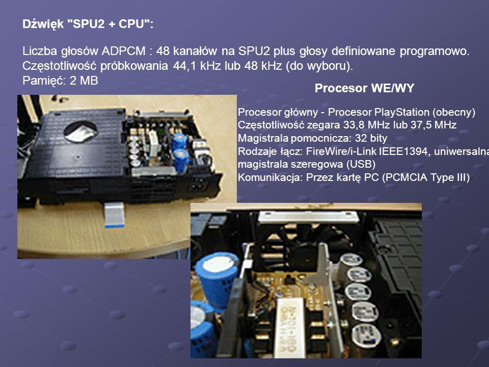 Dźwięk SPU2 + CPU :