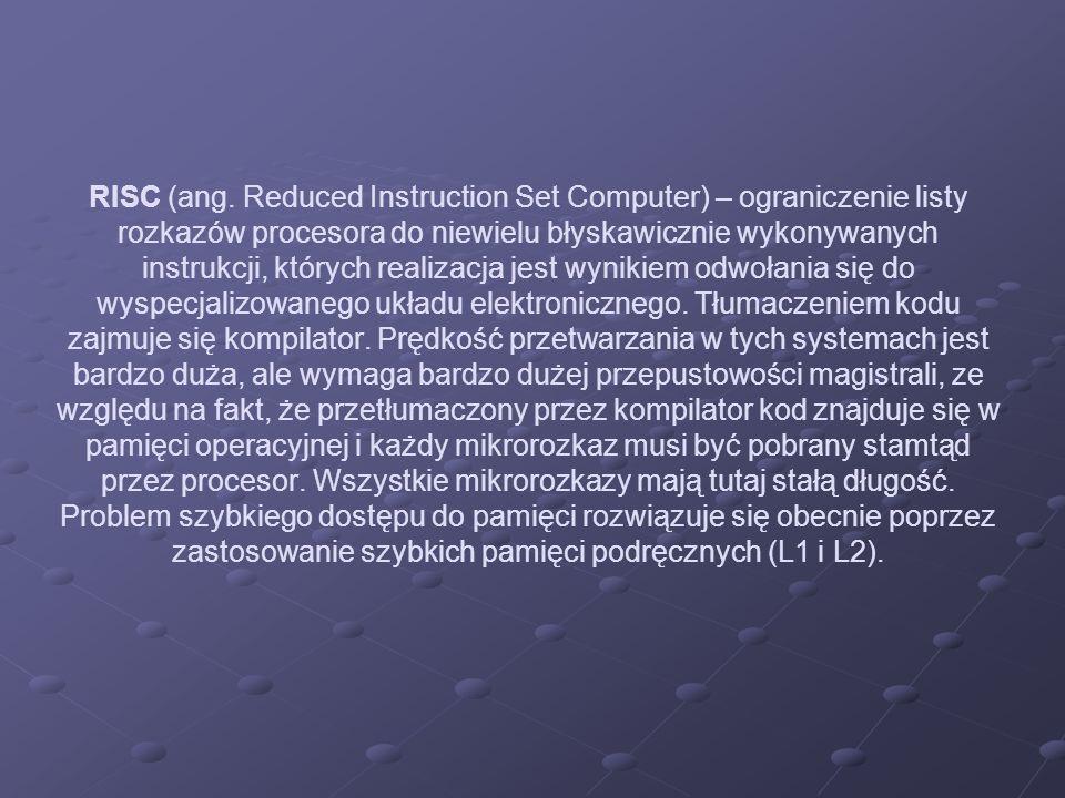 RISC (ang.