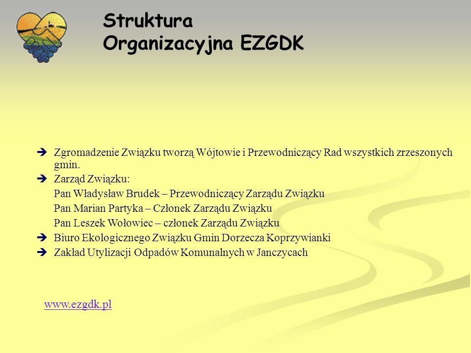 Struktura Organizacyjna EZGDK