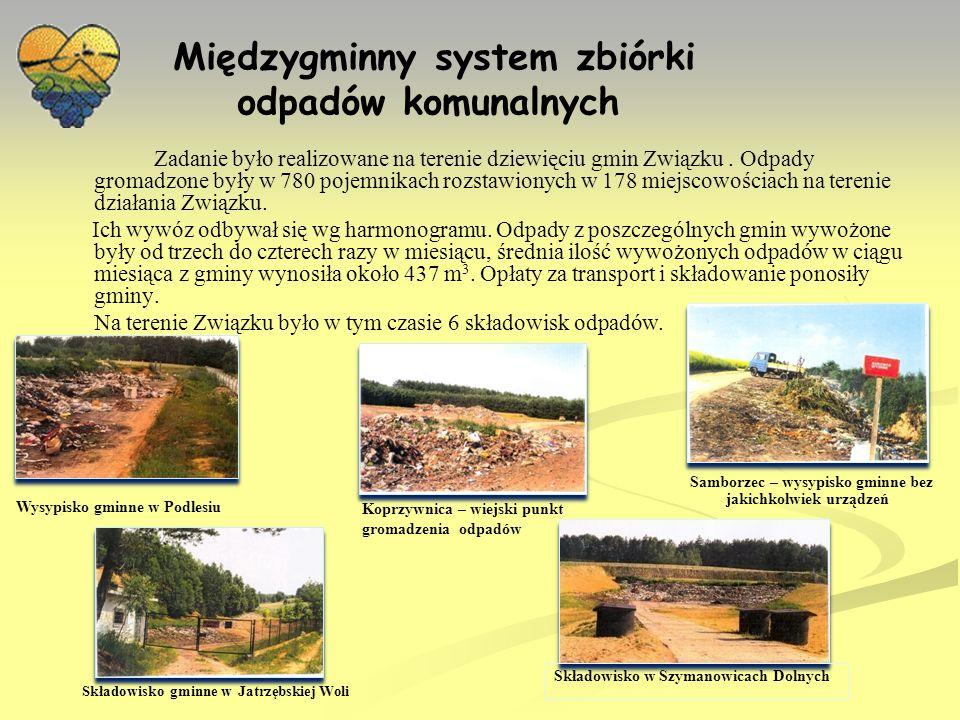 Międzygminny system zbiórki odpadów komunalnych