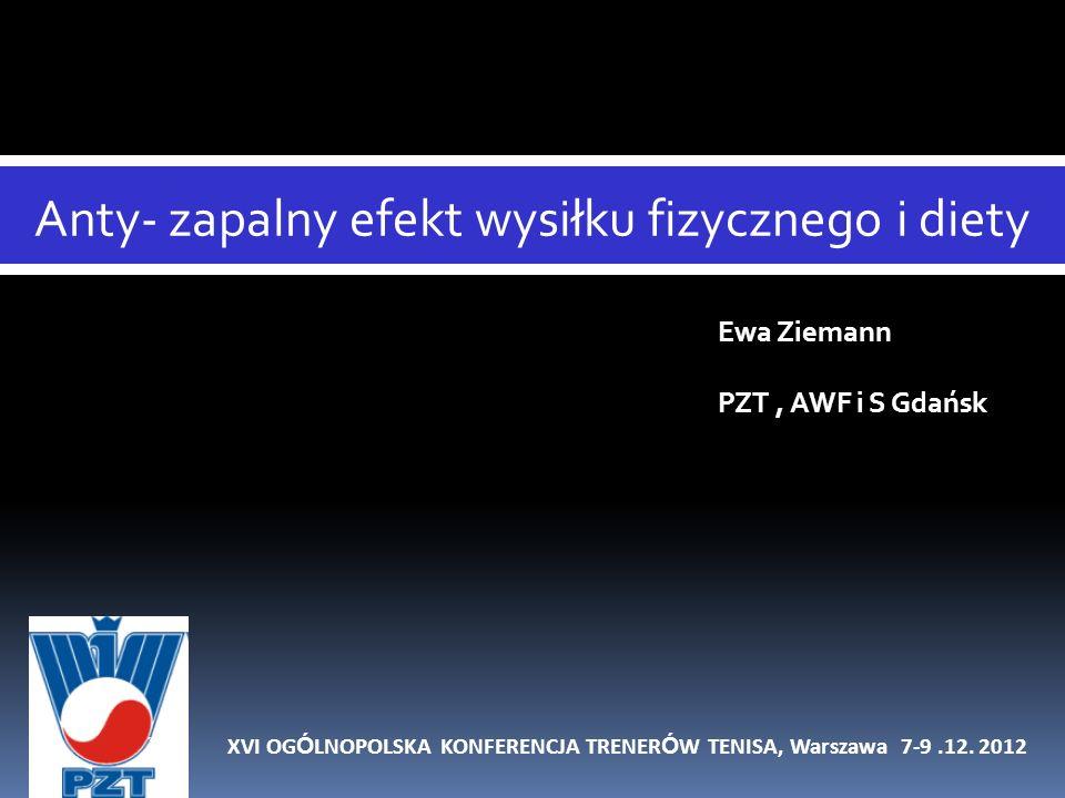 XVI OGÓLNOPOLSKA KONFERENCJA TRENERÓW TENISA, Warszawa 7-9 .12. 2012