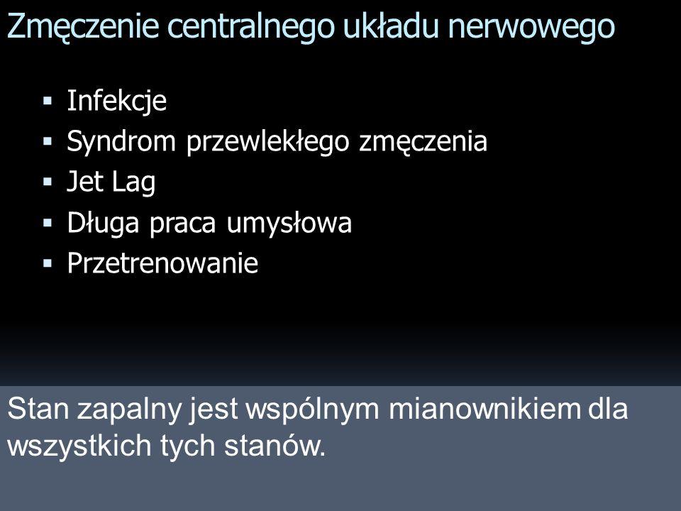 Zmęczenie centralnego układu nerwowego