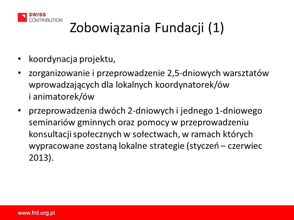 Zobowiązania Fundacji (1)