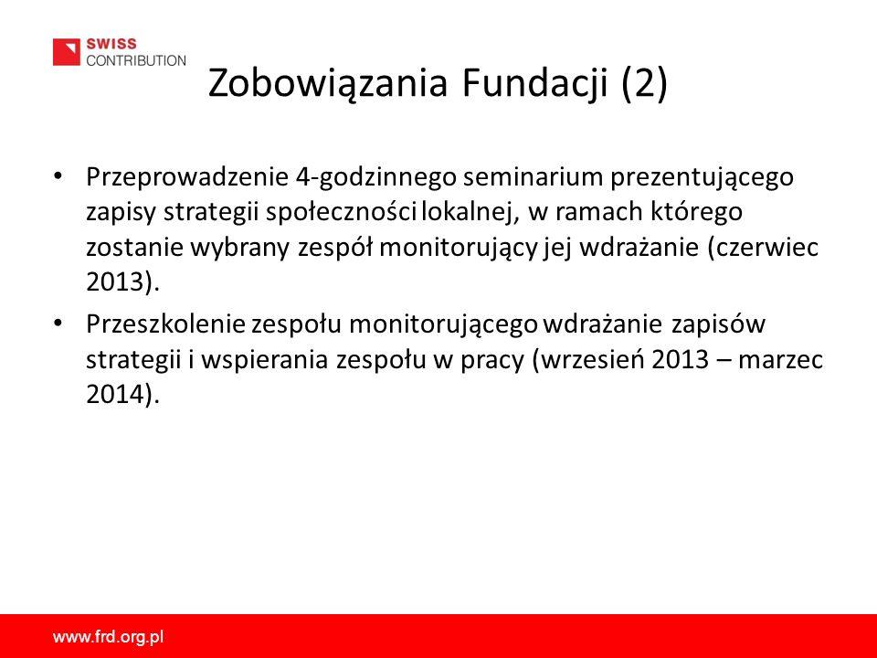 Zobowiązania Fundacji (2)