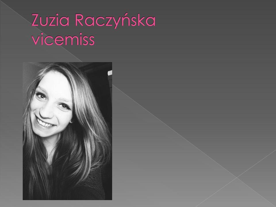 Zuzia Raczyńska vicemiss