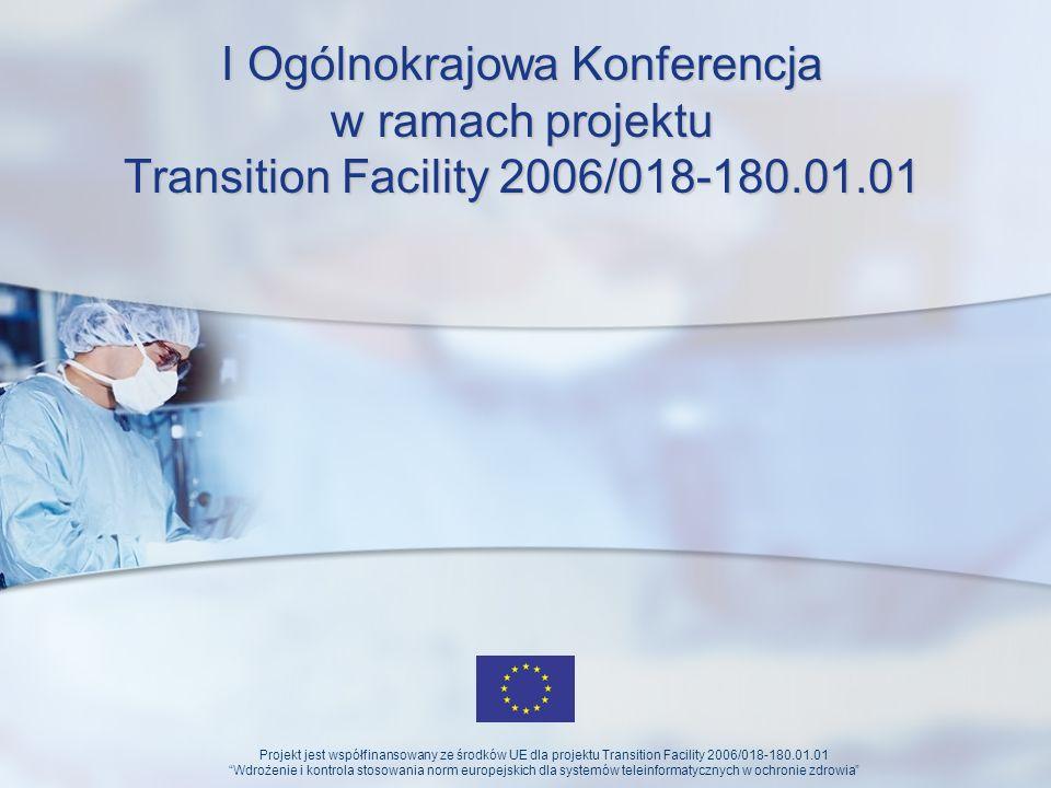 I Ogólnokrajowa Konferencja w ramach projektu Transition Facility 2006/018-180.01.01
