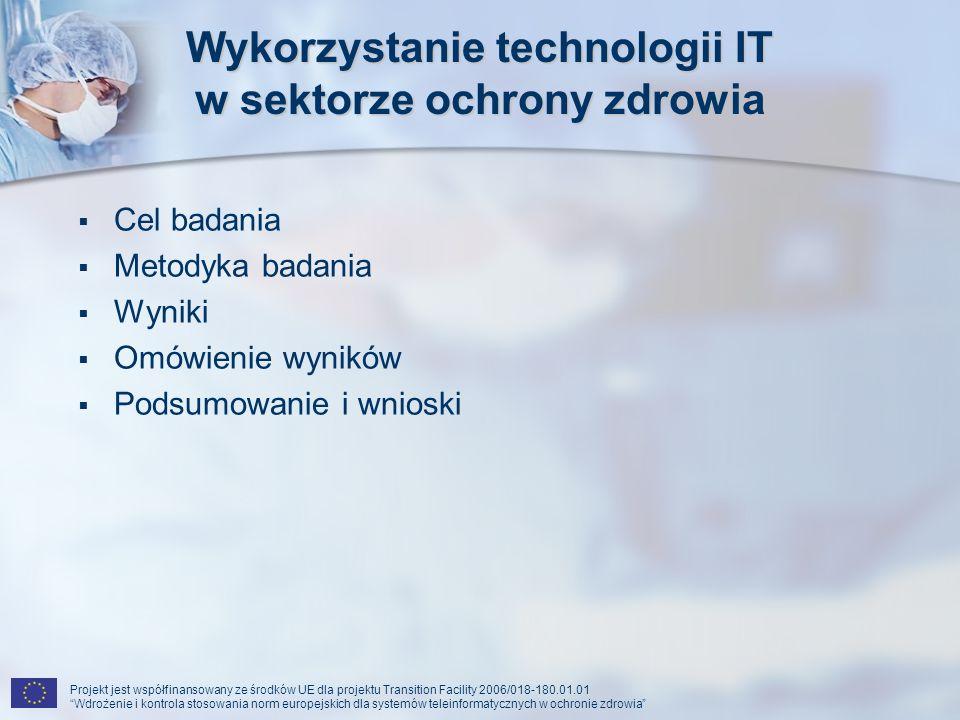 Wykorzystanie technologii IT w sektorze ochrony zdrowia
