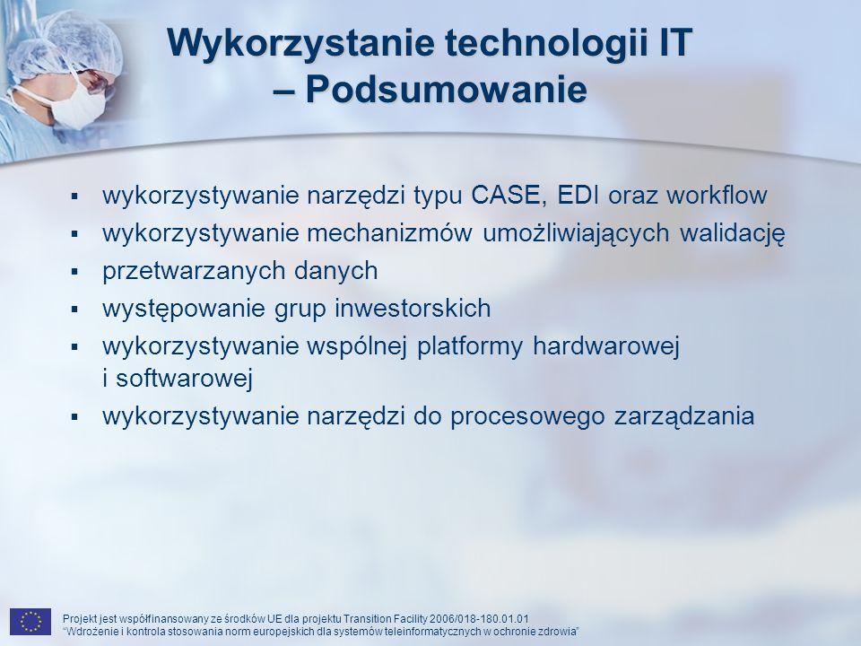 Wykorzystanie technologii IT – Podsumowanie