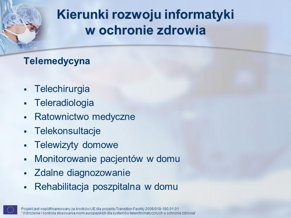 Kierunki rozwoju informatyki w ochronie zdrowia