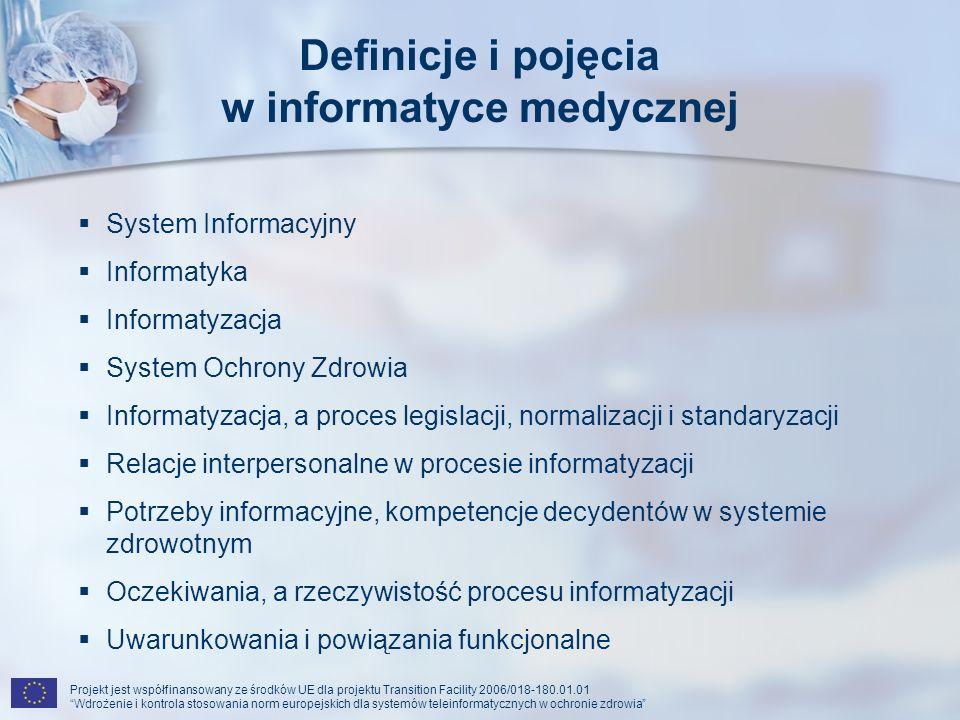 w informatyce medycznej