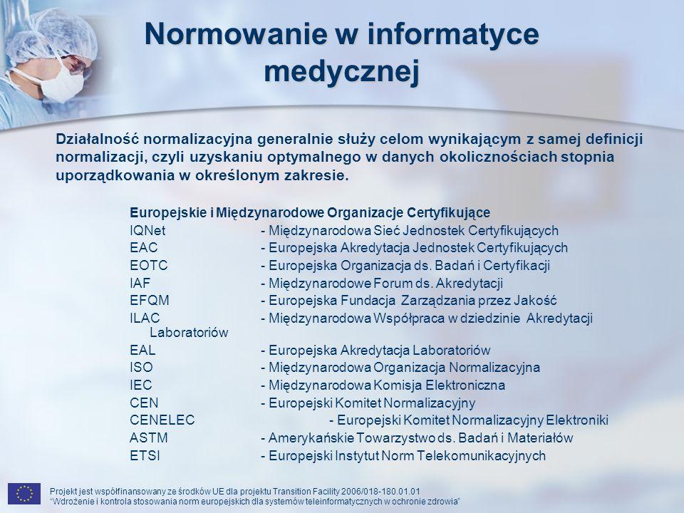 Normowanie w informatyce medycznej