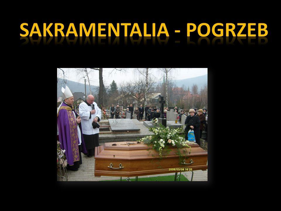Sakramentalia - pogrzeb