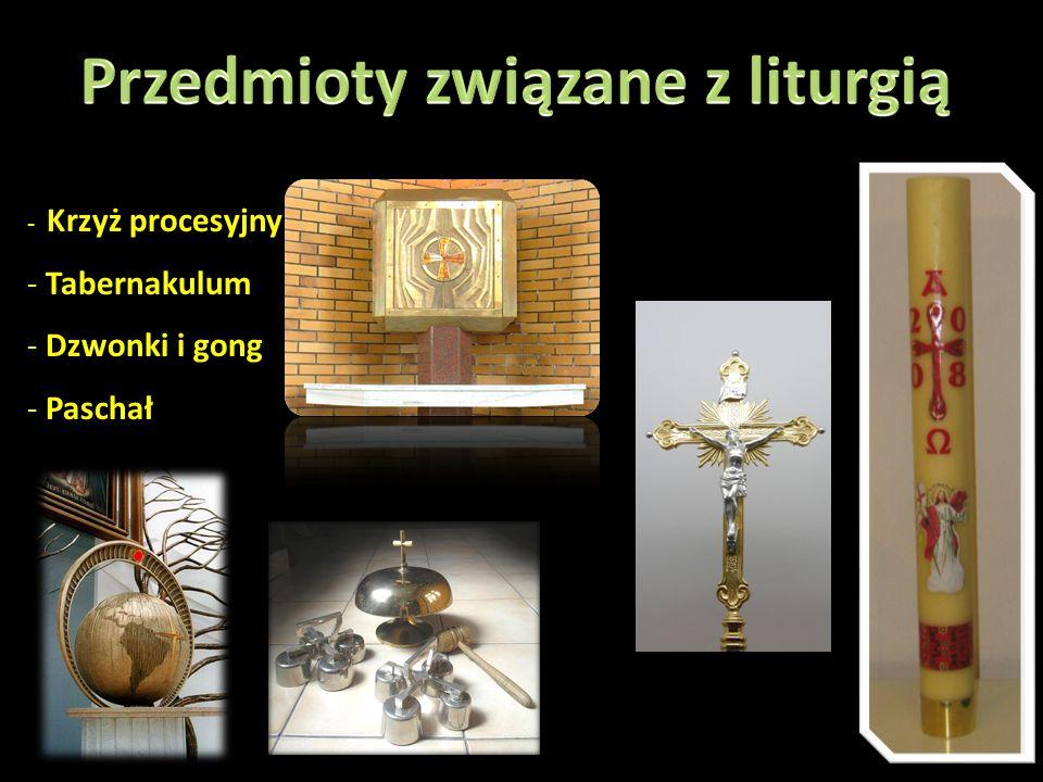Przedmioty związane z liturgią