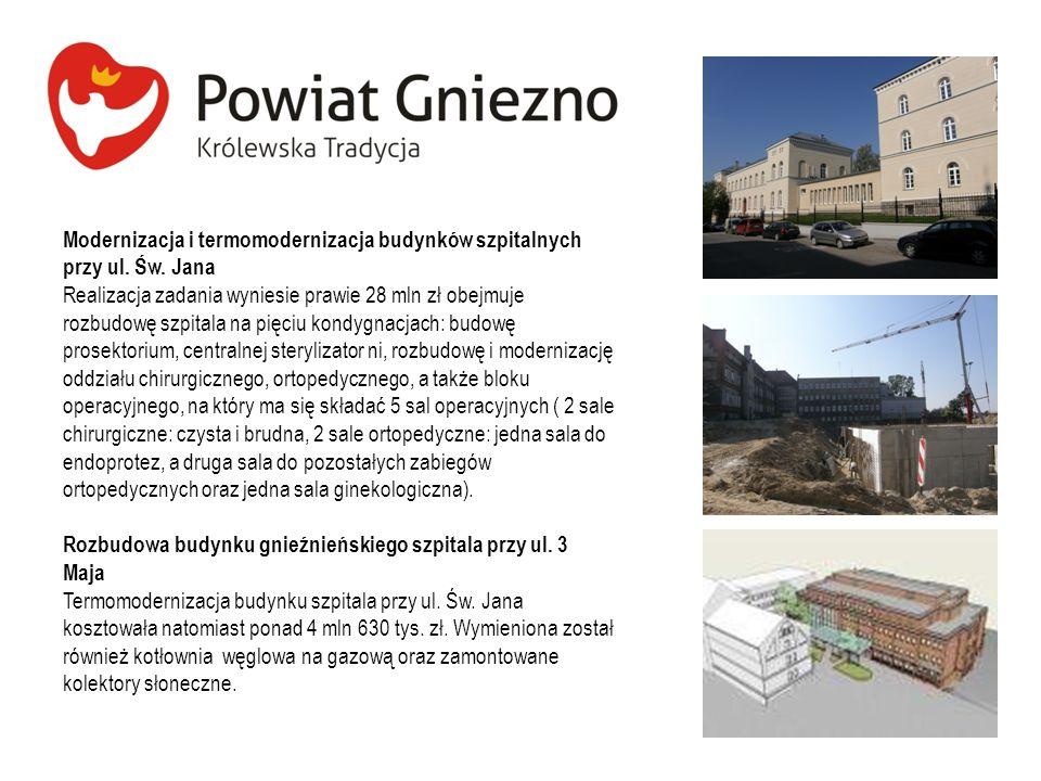 Modernizacja i termomodernizacja budynków szpitalnych przy ul. Św. Jana