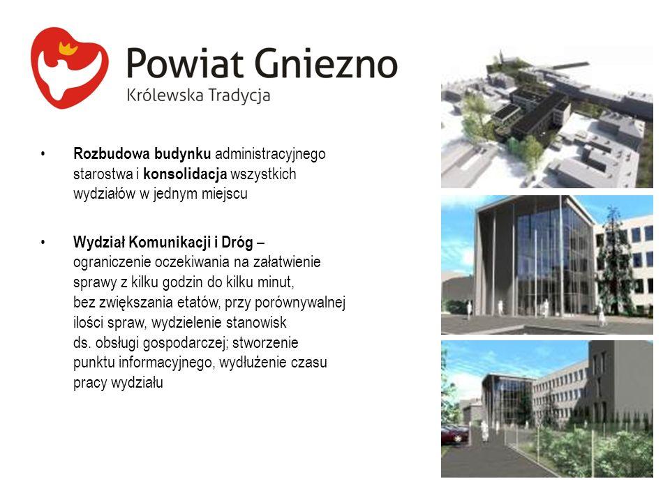 Rozbudowa budynku administracyjnego starostwa i konsolidacja wszystkich wydziałów w jednym miejscu