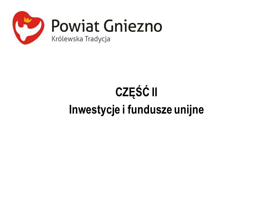 Inwestycje i fundusze unijne