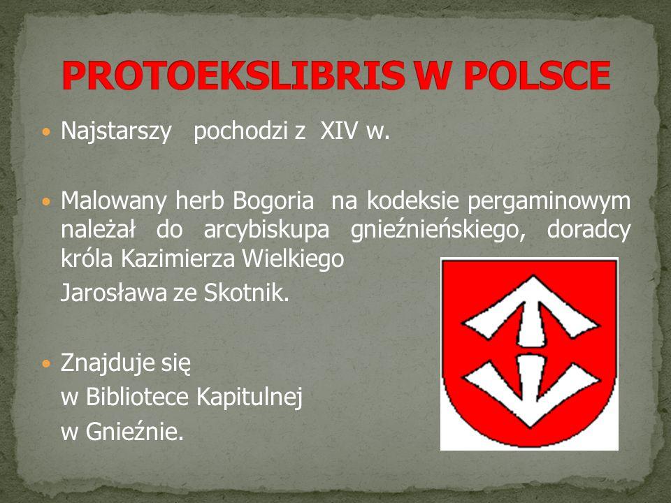 PROTOEKSLIBRIS W POLSCE