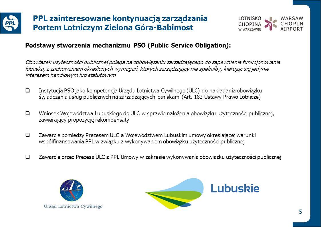 PPL zainteresowane kontynuacją zarządzania Portem Lotniczym Zielona Góra-Babimost