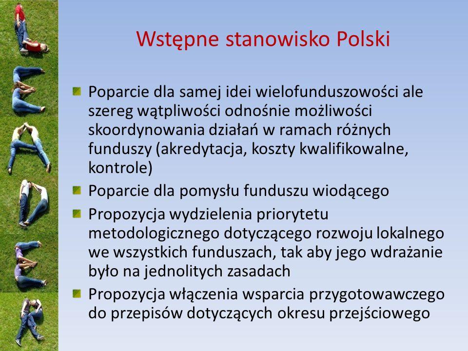 Wstępne stanowisko Polski