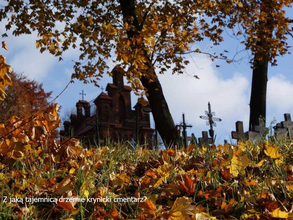 Z jaką tajemnicą drzemie krynicki cmentarz
