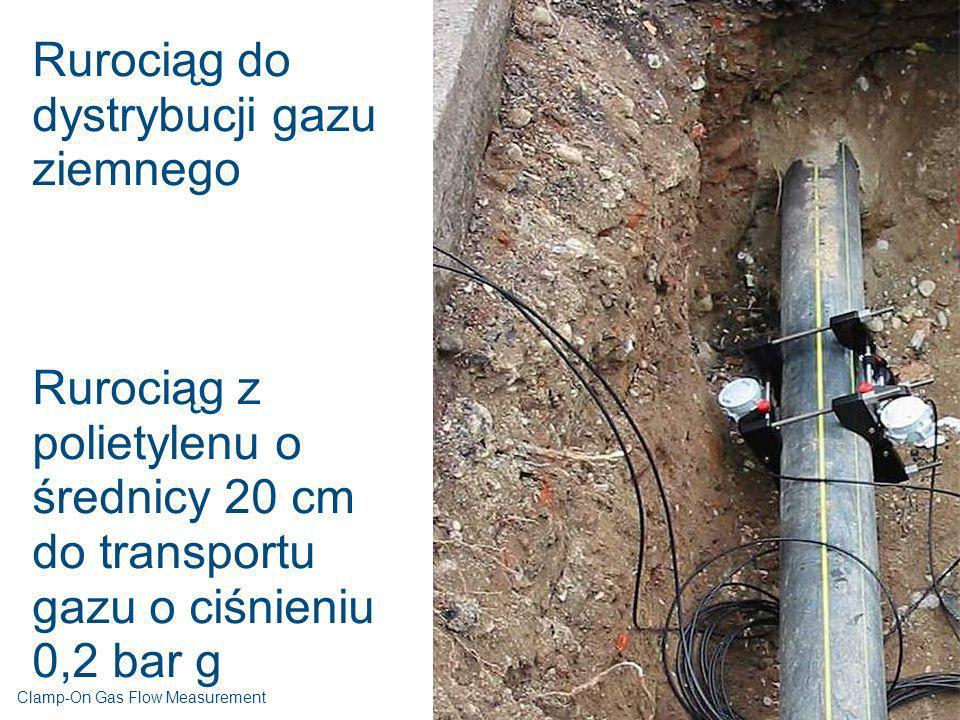 Rurociąg do dystrybucji gazu ziemnego