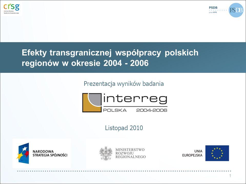 Prezentacja wyników badania Listopad 2010