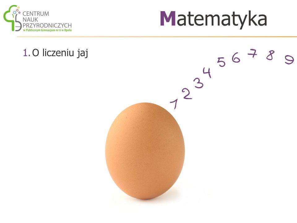 Matematyka O liczeniu jaj
