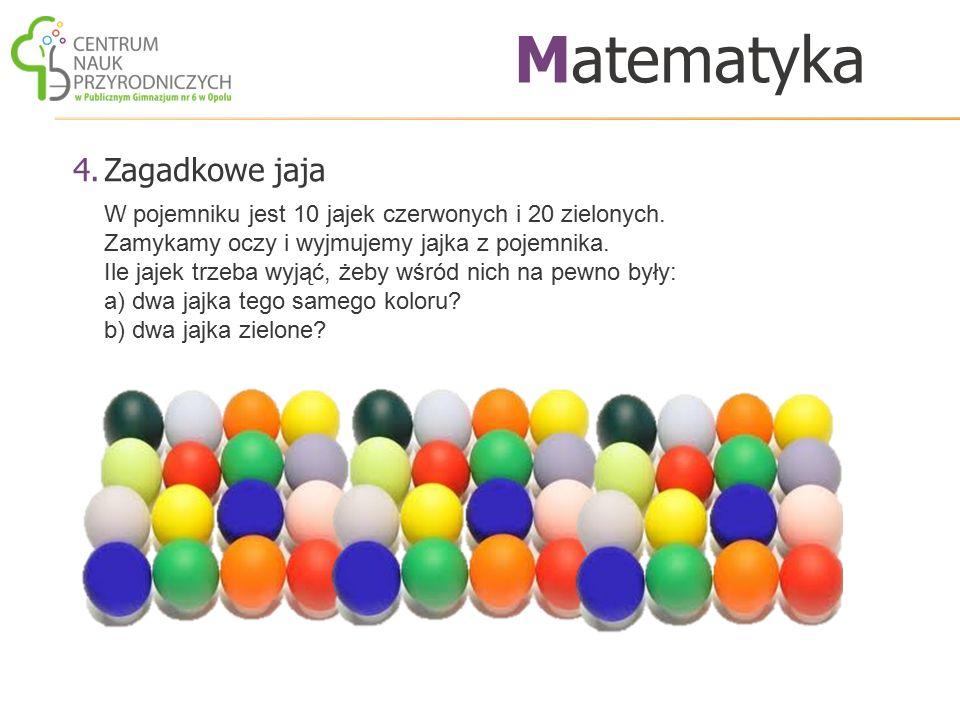 Matematyka Zagadkowe jaja