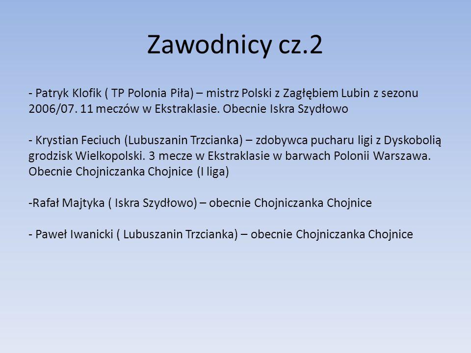 Zawodnicy cz.2