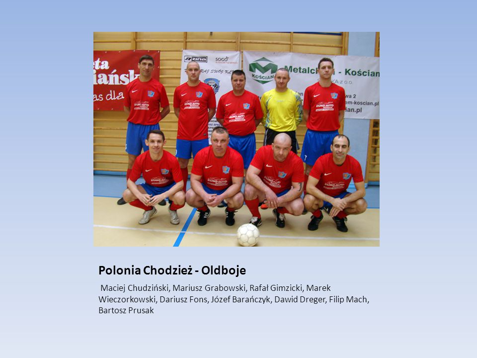 Polonia Chodzież - Oldboje