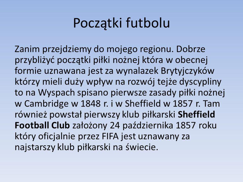 Początki futbolu