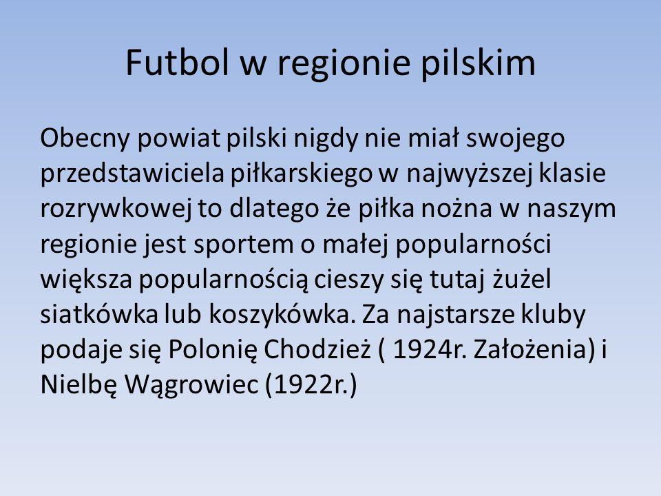 Futbol w regionie pilskim