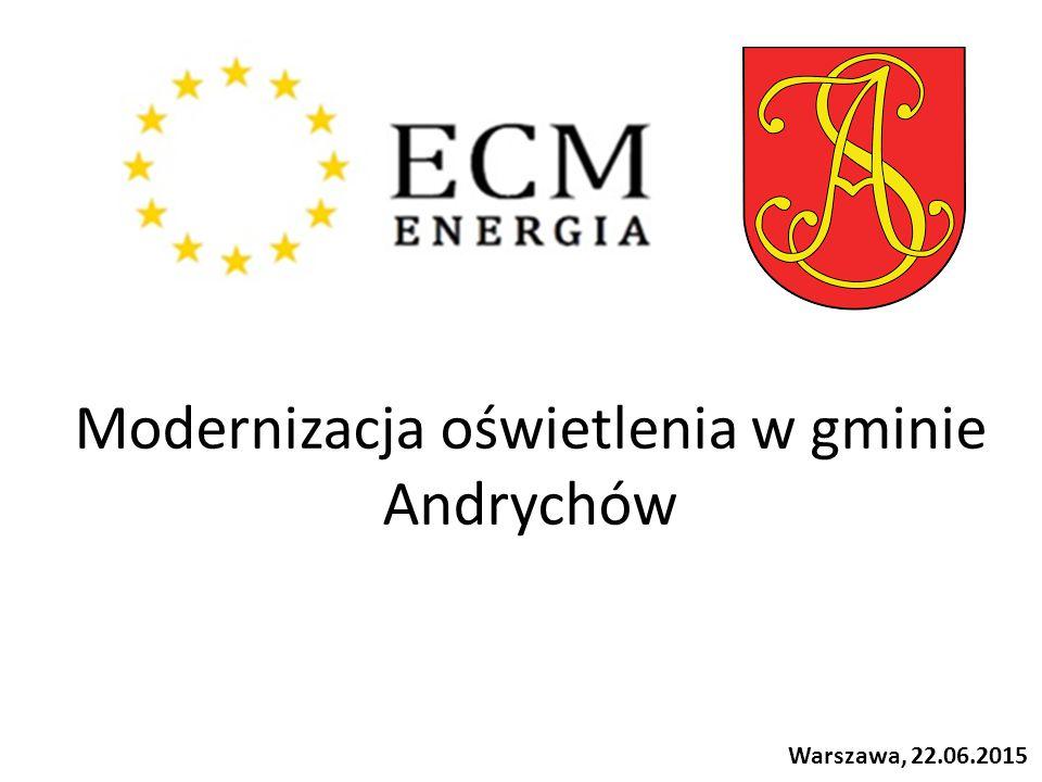 Modernizacja oświetlenia w gminie Andrychów