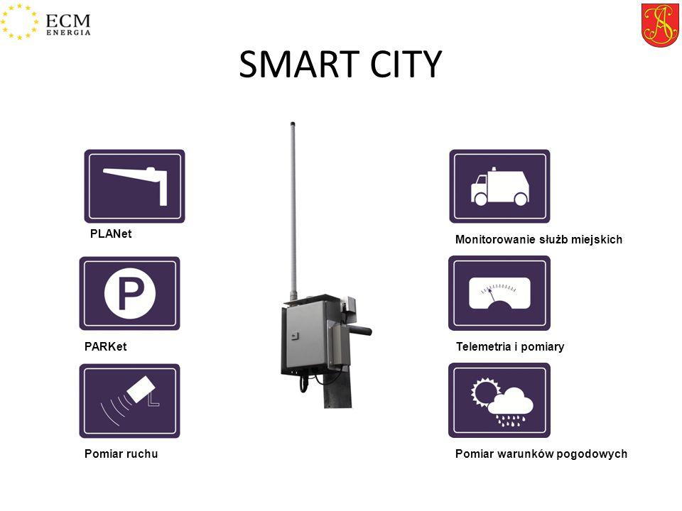 SMART CITY PLANet Monitorowanie służb miejskich PARKet