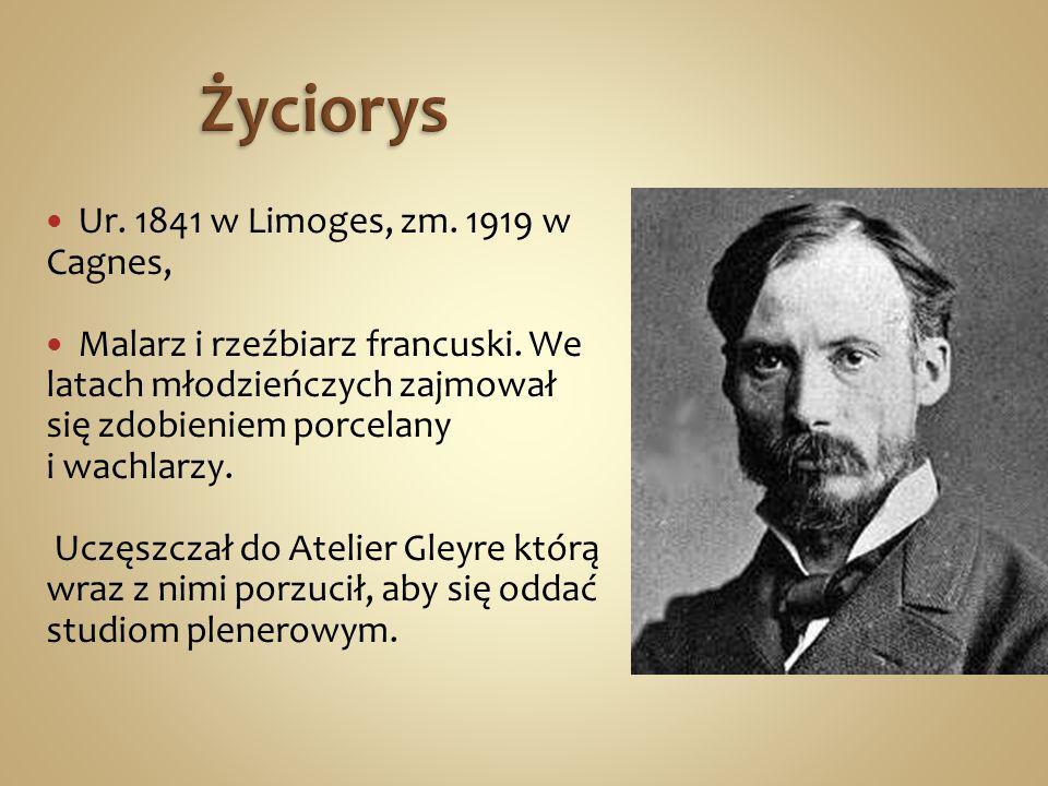 Życiorys Ur. 1841 w Limoges, zm. 1919 w Cagnes,