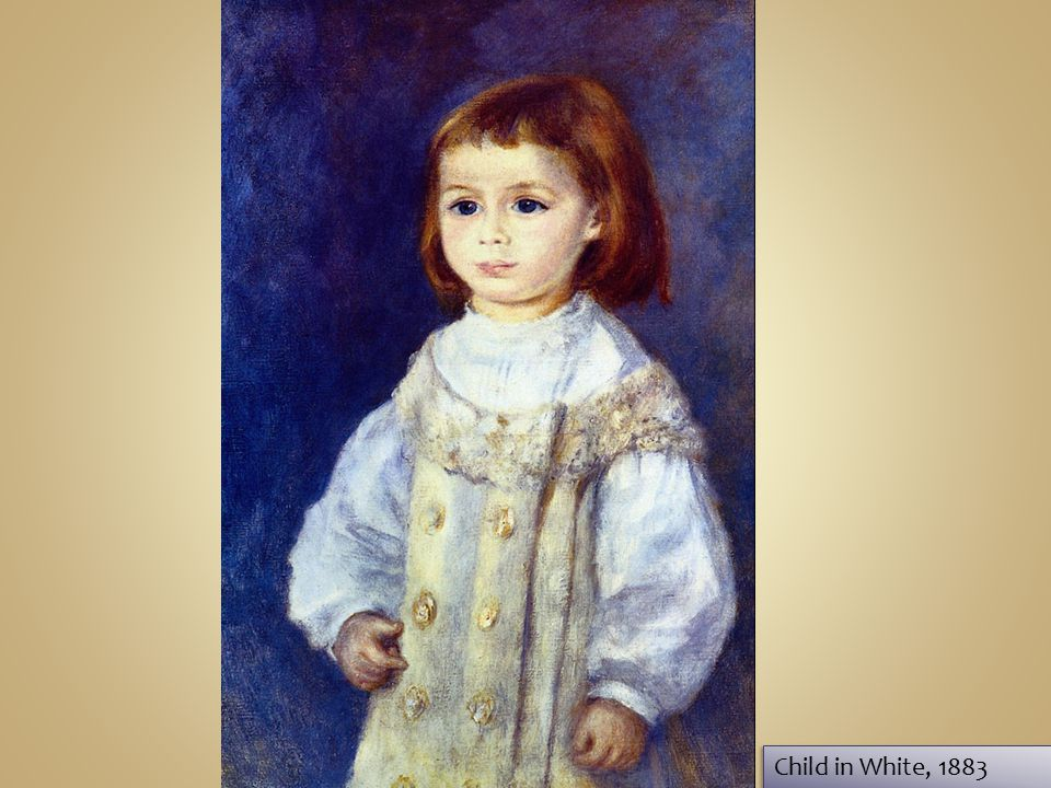 Child in White, 1883