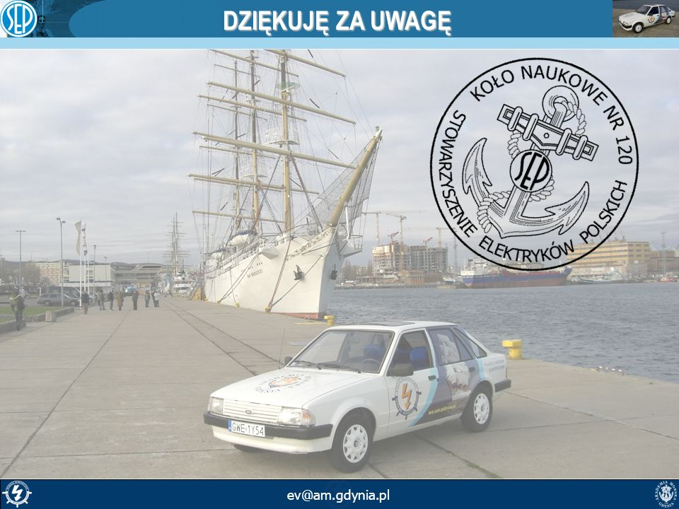 DZIĘKUJĘ ZA UWAGĘ ev@am.gdynia.pl