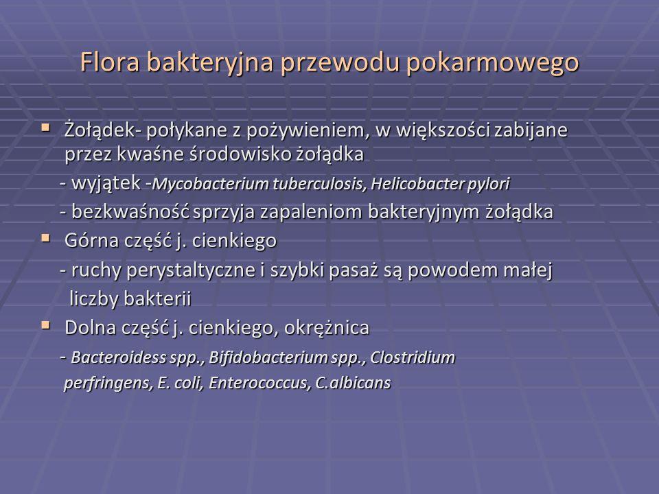 Flora bakteryjna przewodu pokarmowego