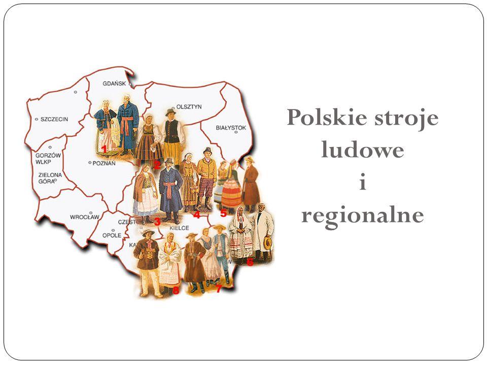 Polskie stroje ludowe i regionalne