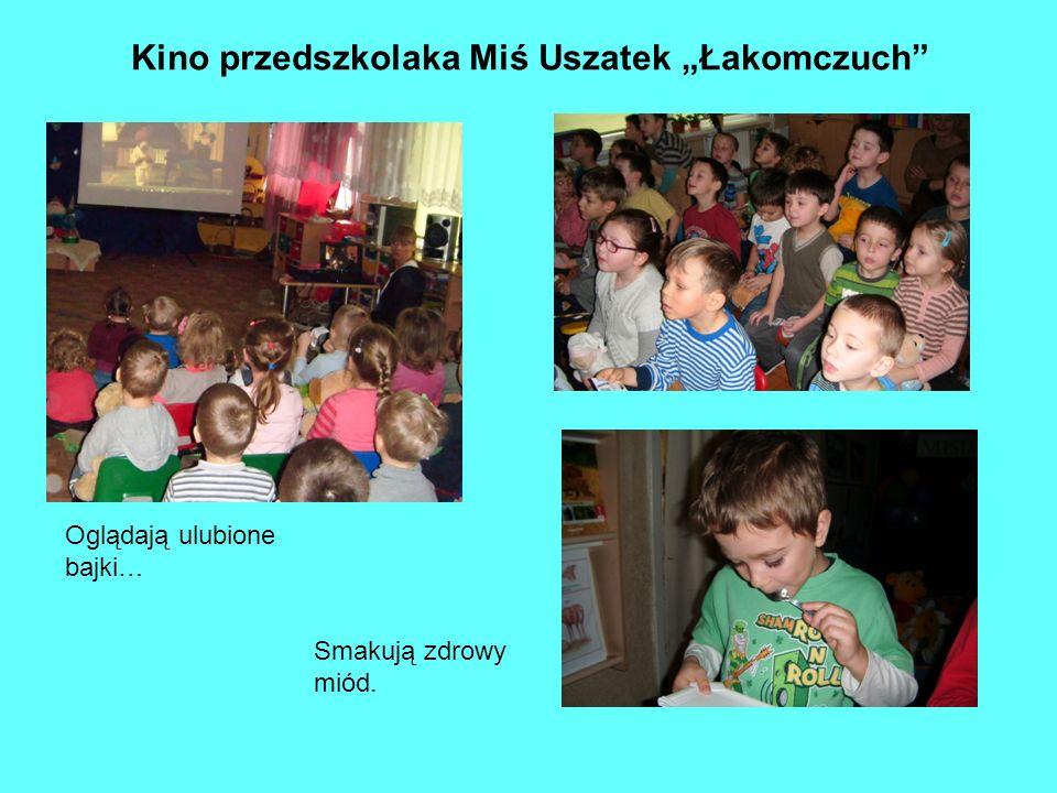 """Kino przedszkolaka Miś Uszatek """"Łakomczuch"""