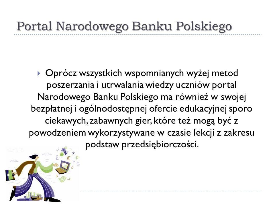 Portal Narodowego Banku Polskiego