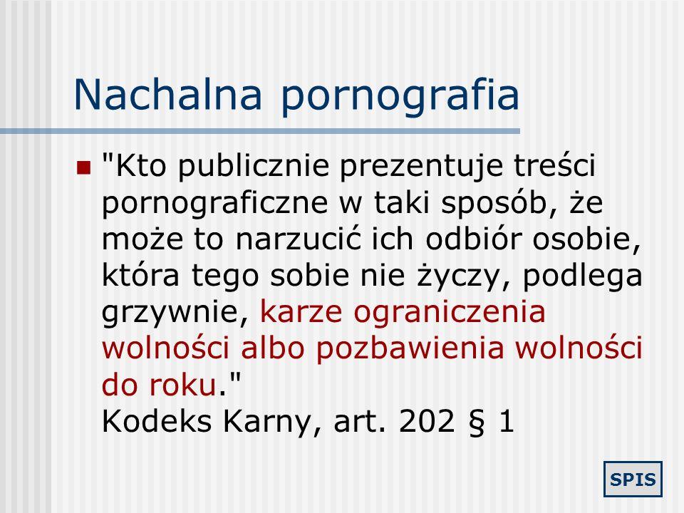 Nachalna pornografia