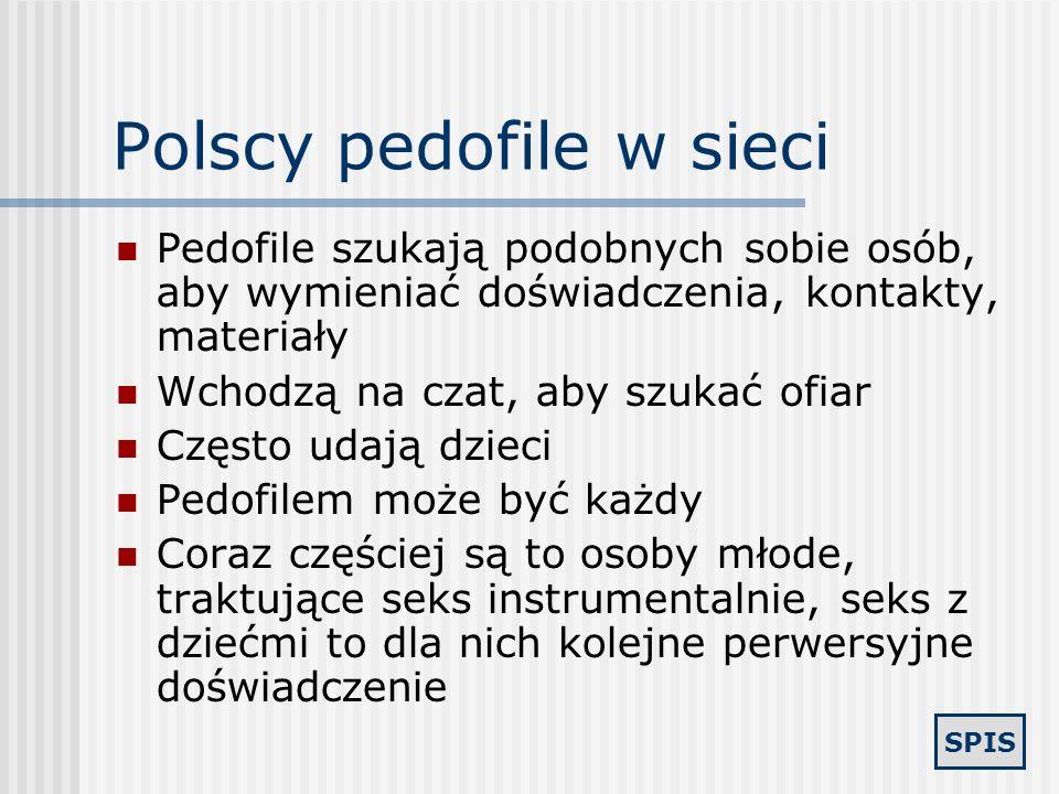 Polscy pedofile w sieci