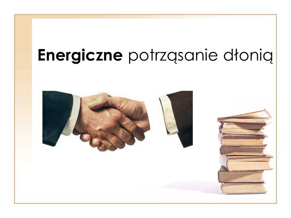 Energiczne potrząsanie dłonią