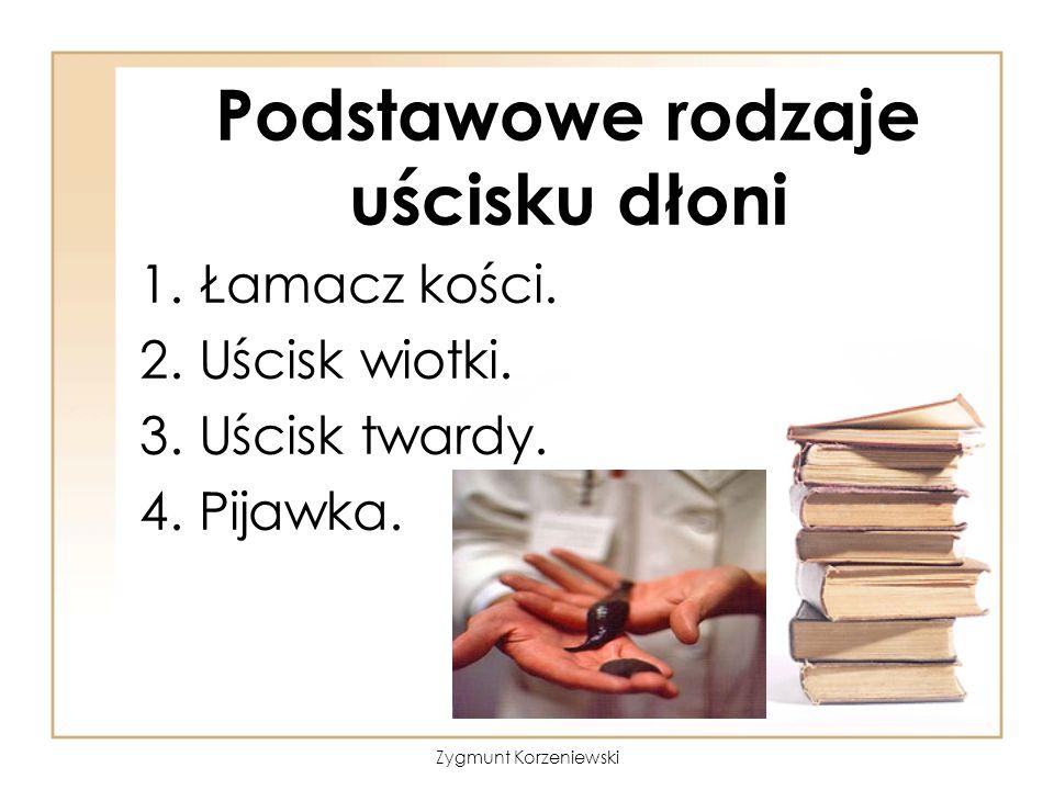 Podstawowe rodzaje uścisku dłoni